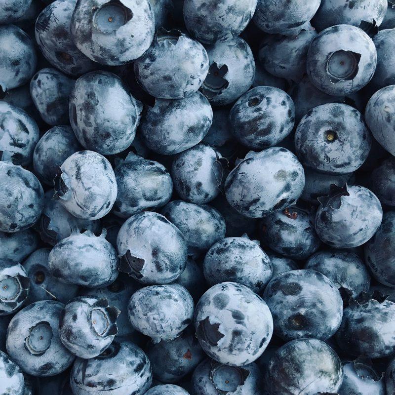Mėlynės su vanile