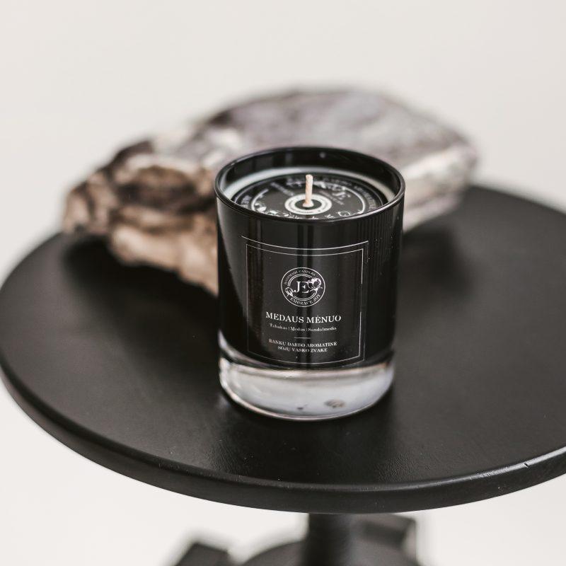 Kvepianti Žvakė stiklo inde